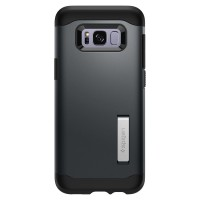 Spigen Slim Armor Samsung Galaxy S8 - Metal Slate
