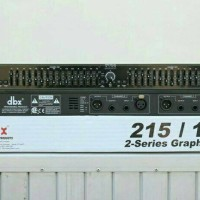 equalizer dbx 215/131 profesional audio
