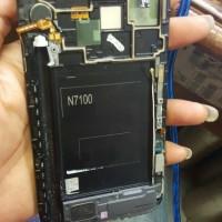 LCD samsung Note 2 plus frame copotan