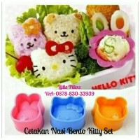 Jual Bento Rice Mold Hello Kitty & Friends/ Cetakan Nasi Karakter Murah
