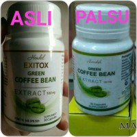 Hendel Exitox Green Coffee Bean 100% Original Kopi Hijau
