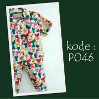 Jual Piyama | Baju Tidur Setelan | Pakaian anak Murah