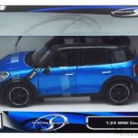 Diecast maisto 1:24 - Mini Cooper Countryman, Blue