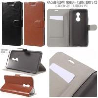 harga Xiaomi Redmi Note 4x - London Style Leather Case Tokopedia.com