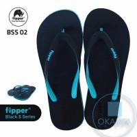 Sandal Fipper Black Series S - Black Tosca [BSS 02] - ORIGINAL