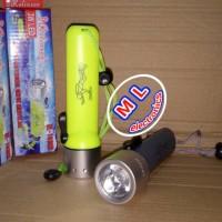Senter selam / diving flash light 3W LED CREE