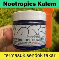 NOOTROPICS | Phenibut HCL Powder 25 Gram| Tenang & Percaya Diri |Ampuh