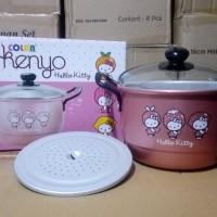Panci Steamer/Kukusan 18cm Hello Kitty Maspion