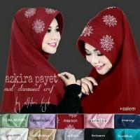 Hijab/Jilbab Azkira Payet khimar kerudung murah