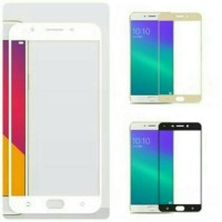 TEMPERED GLASS COLOR SAMSUNG GALAXY C9 PRO FULL COVER