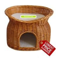 harga Kandang Keranjang Rumah Kucing Tingkat Besar Murah Cat House Pet Bed Tokopedia.com