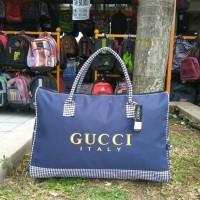 Tas Travel Pakaian Hand Bag Jinjing Lebaran Wanita GUCCI Original