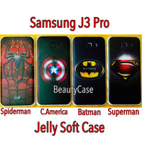 Samsung J3 Pro Jelly Soft Case Timbul Galaxy J 3 Pro