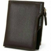 Bogesi Dompet Kulit Pria Short Paragraph Leather Wallet - BOGESI