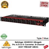 Behringer ADA8200 Ultragain Pro A/D D/A Converter, 8-Channel