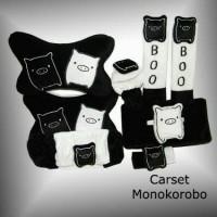 Bantal Mobil Monokorobo Car Set (6 in 1)