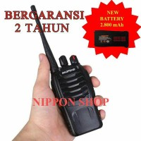 Radio HT Handy Talkie Walkie Talkie Baofeng BF-888S UHF 16Ch up to 5km