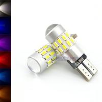Spextrum LED Lampu Senja T10 3014 30 Mata + Lensa CANBUS 12V-24V 3W