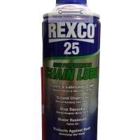 Pelumas Rantai REXCO 25 CHAIN LUBE Sepeda / Motor / Engsel 350 ml