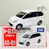 Toyota Avanza veloz (white ) AS-01 Tomica Takara tomy