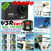 Jual Paket EKEN Sony 4K 30fps Action Camera+Vgen 16Gb+Tongsis Attanta 07 Murah