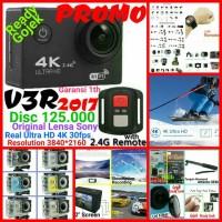 Jual Paket EKEN Sony 4K 30fps Action Camera+Memory 32Gb+Tongsis Attanta 07 Murah