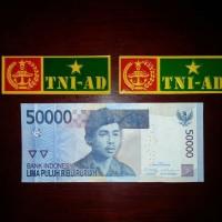 Stiker Sticker Plat Nomor TNI AD untuk Mobil Motor