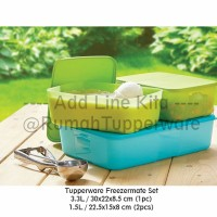 Tupperware FreezerMate Set (Kotak Khusus Freezer)