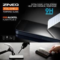 Tempered Glass Alcatel Flash Plus 2 Anti Gores Antigores TG Temper
