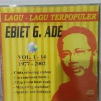 CD ORIGINAL EBIET G ADE - LAGU-LAGU TERPOPULER EBIET G ADE VOL. 1-14