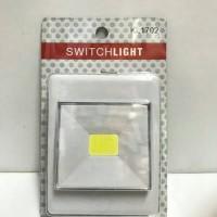 lampu tempel lemari dinding magnet / switchlight KL1702