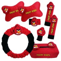 Bantal Mobil Angry Bird Car Set (6 in 1)