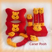 Bantal Mobil Pooh Car Set (6 in 1)