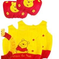 Bantal Mobil Sarung Cover Jok Pooh