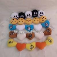 Gantungan Tempel Boneka Nightmare Emoticon Doraemon Tazmania Tweety