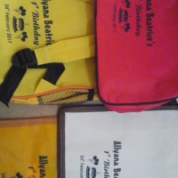 Jasa SABLON tas souvenir GOODIE goody bag ultah anak hrga MURAH Grosir