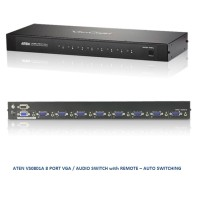 ATEN VS0801A 8 PORT VGA / AUDIO SWITCH with REMOTE AUTO SWITCHING