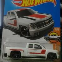 Hot Wheels Chevy Silverado (White)