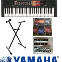 Jual Keyboard Yamaha PSR F-51 + Stand Keyboard + Cover + Tas Murah