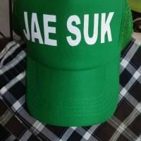 TOPI YOO JAE SUK HIJAU RUNNING MAN