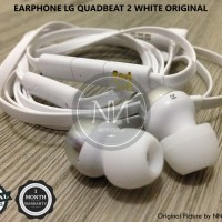 HEADSET EARPHONE LG QUADBEAT 2 G2 G3 G4 G5 V10 V20 NEXUS 4 5X ORIGINAL