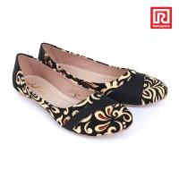harga Sepatu Jj Flat Motif Batik Hitam (07910673) Tokopedia.com