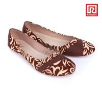 harga Sepatu Jj Flat Motif Batik Coklat (07910675) Tokopedia.com