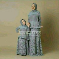 Couple Mk gamis queena abu