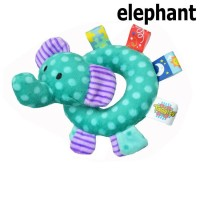 Baby Grow - Bonekah Rattle Mainan Baby - Elephant