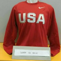 sweater nike usa merah basketball nba