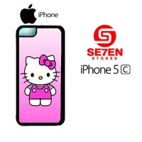 Casing HP iPhone 5C Cute Hello Kitty 2 Custom Hardcase