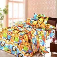 Jual Chelsea Rosewell Bed Cover + Sprei 180x200cm (King) - Tsum Tsum Murah