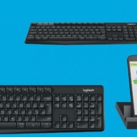 Logitech K375s Multi-Device Bluetooth + Wireless Keyboard with Stand