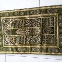 Sajadah + Tas Empuk Tebal 100x60cm Busa Sponge Lipat Lansia Travel